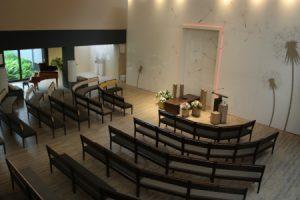 Crematorium Daelwijck Utrecht (grote aula)